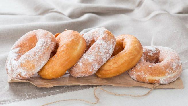 Receta de donuts de avena y yogur al microondas