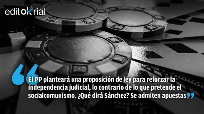 Órdago de Casado a Sánchez: un pacto para despolitizar el CGPJ