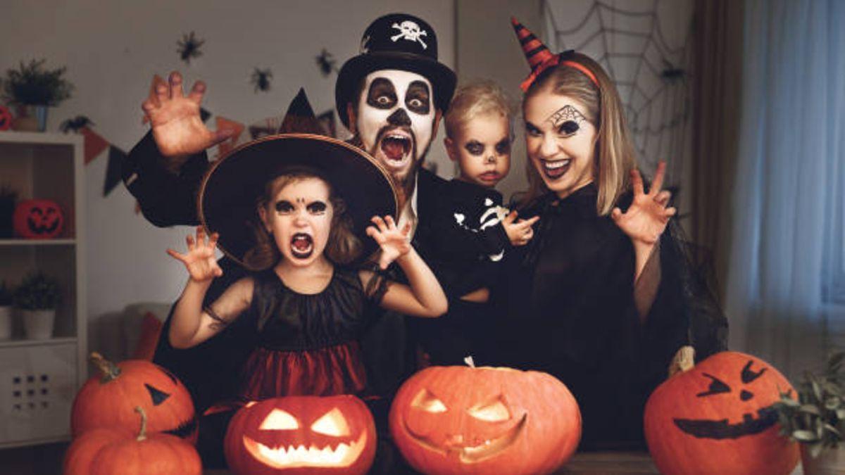 Distintas ideas para hacer una bonita sesión de Halloween con los niños