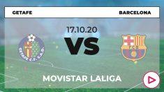 Liga Santander 2020-2021: Barcelona – Getafe| Horario del partido de fútbol de Liga Santander.