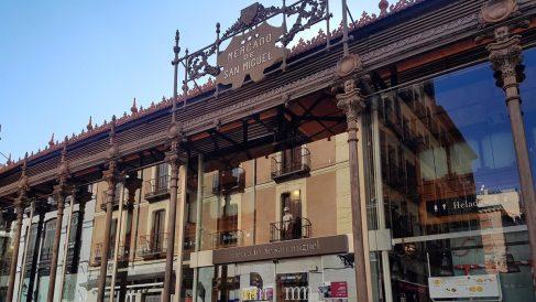 Cvirus.- El Mercado de San Miguel echa el cierre temporalmente por las restricciones y debido a la evolución del Covid