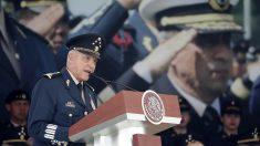 El exministro de Defensa de México, el general Salvador Cienfuegos.