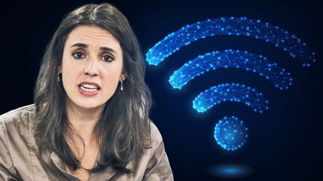 Irene Montero internet