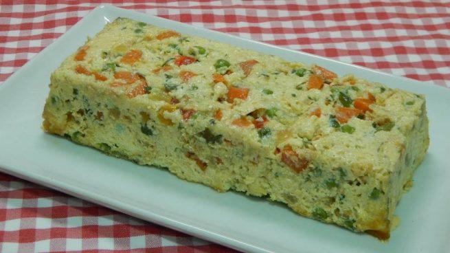 Pastel salado de yuca, batata y especias