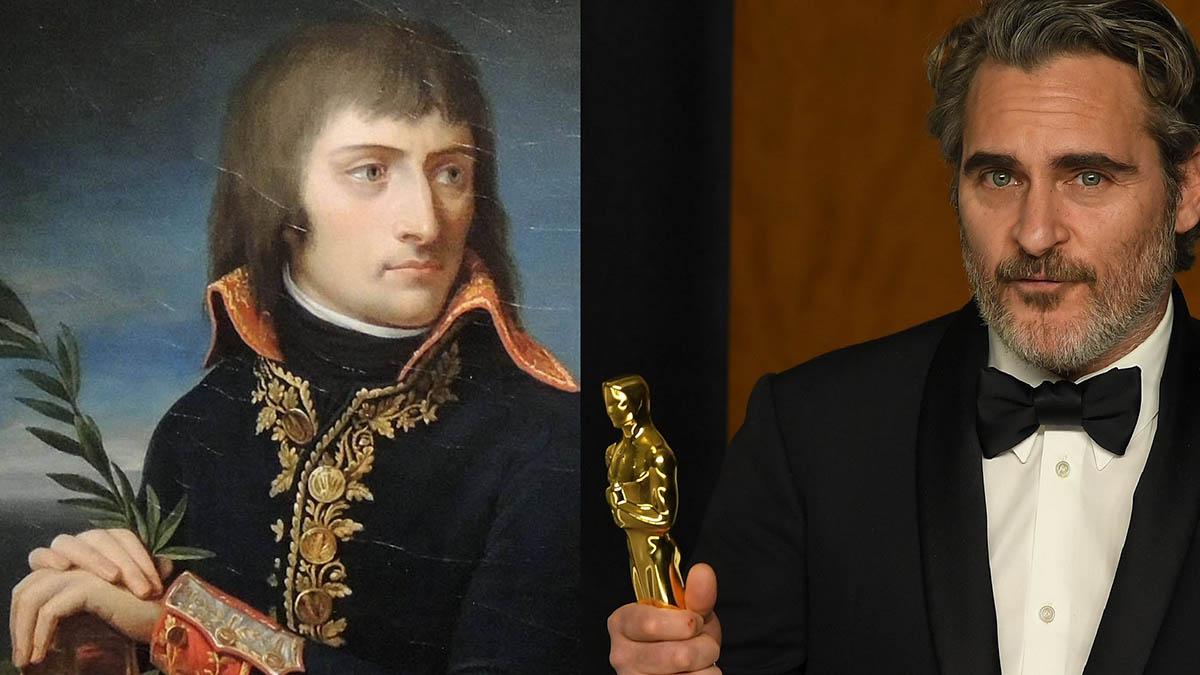 Joaquin Phoenix será Napoléon en la nueva película de Ridley Scott.
