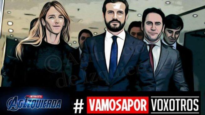 Contundente respuesta en Twitter al #VamosAPorVoxotros de la izquierda: «Creáis odio y ruina»