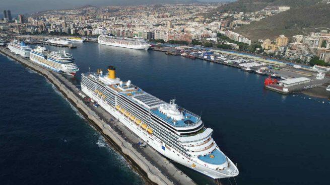 El gobierno canario autoriza que vuelvan los cruceros a sus puertos desde el 5 de noviembre
