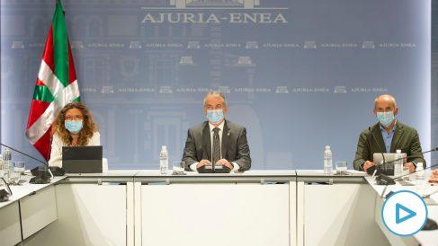 El lehendakari Iñigo Urkullu ha presidido este sábado en Vitoria el Consejo asesor del Plan de Protección Civil.