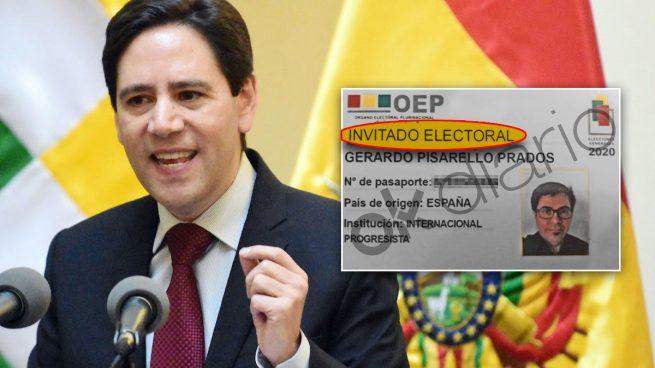 Salvador Romero, presidente del Tribunal Supremo Electoral de Bolivia.