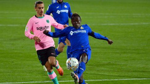 Griezmann volvió a hacer un partido flojo. (AFP)