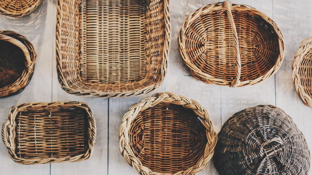 Pasos para elegir una cesta de mimbre para buscar setas