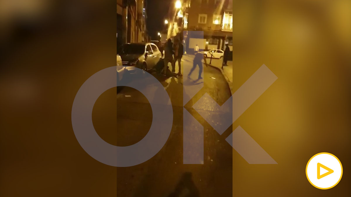 Escalofriantes imágenes de un asesinato en plena calle