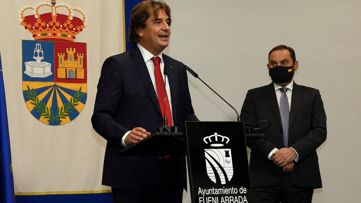 Francisco Javier Ayala Ortega, alcalde de Fuenlabrada, del PSOE. (Foto: Transportes)