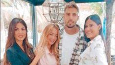 Melodie, Mayka, Patry y 'El Largo'