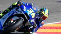 Joan Mir durante el MotoGP GP de Aragón. (AFP)