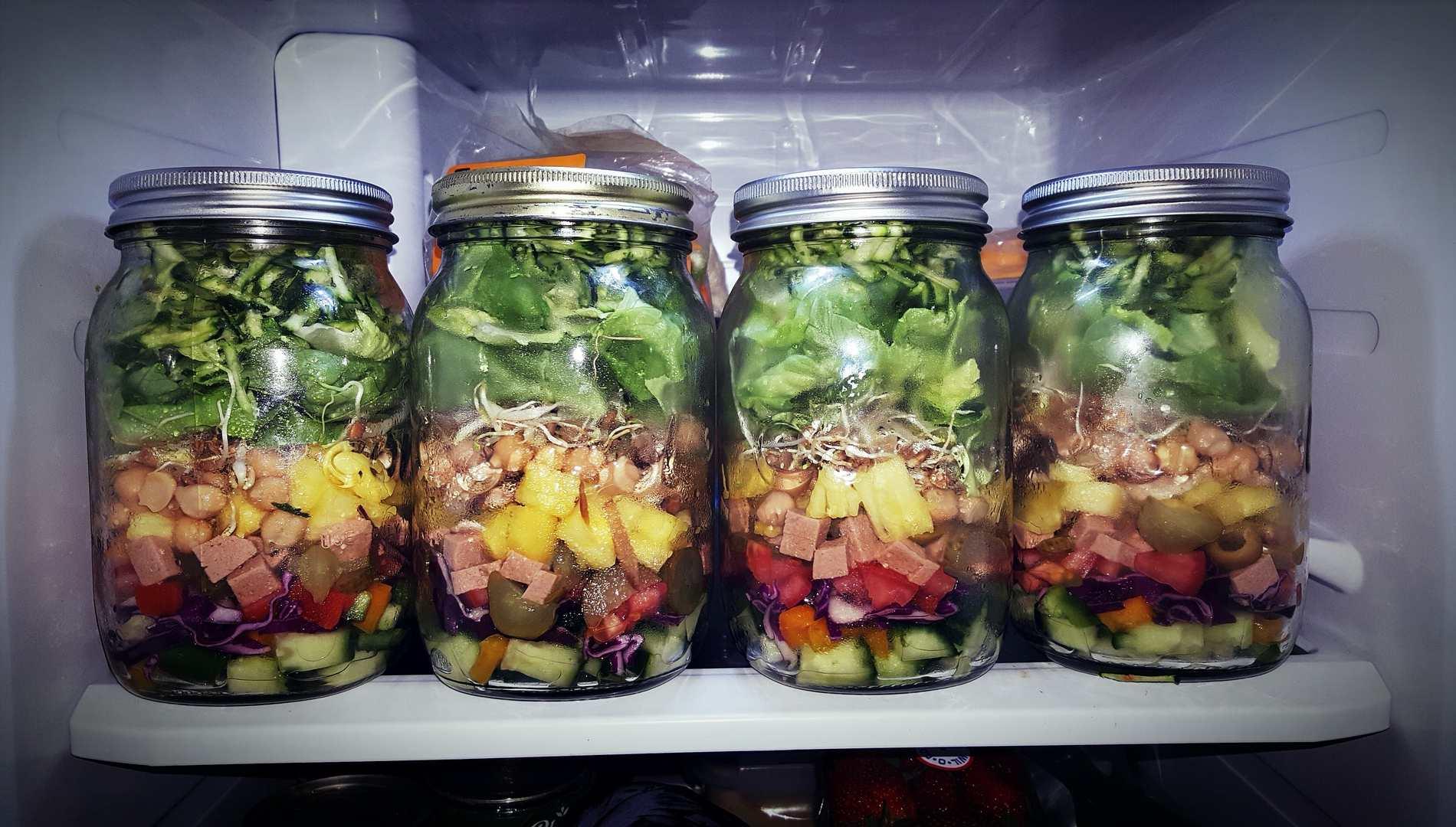 Ensalada vertical: ¿Cómo comer hortalizas de forma diferente?