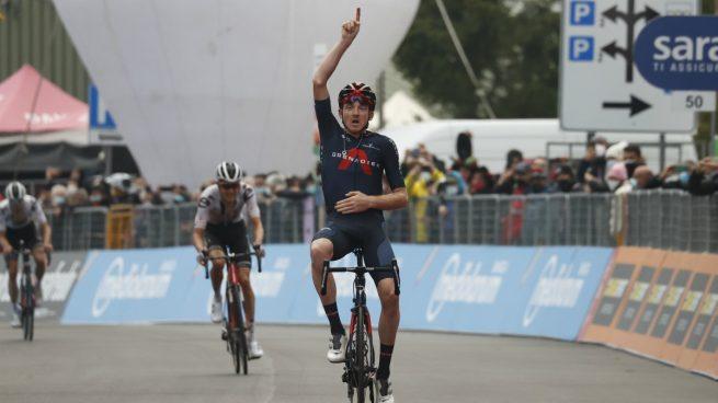 Giro de Italia 2020: clasificación de la etapa 15 de hoy, domingo 18 de octubre, tras la victoria de Tao