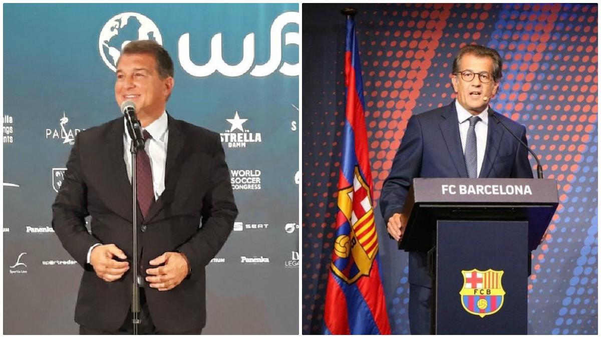 Laporta y Freixa, dos de los candidatos a las elecciones del Barcelona, criticaron las acciones arbitrales de la jornada del sábado.