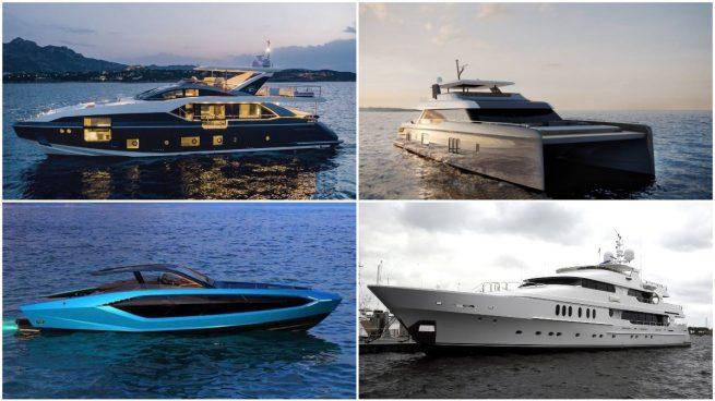 Los barcos de Cristiano Ronaldo, Rafa Nadal, Conor McGregor y Tiger Woods.