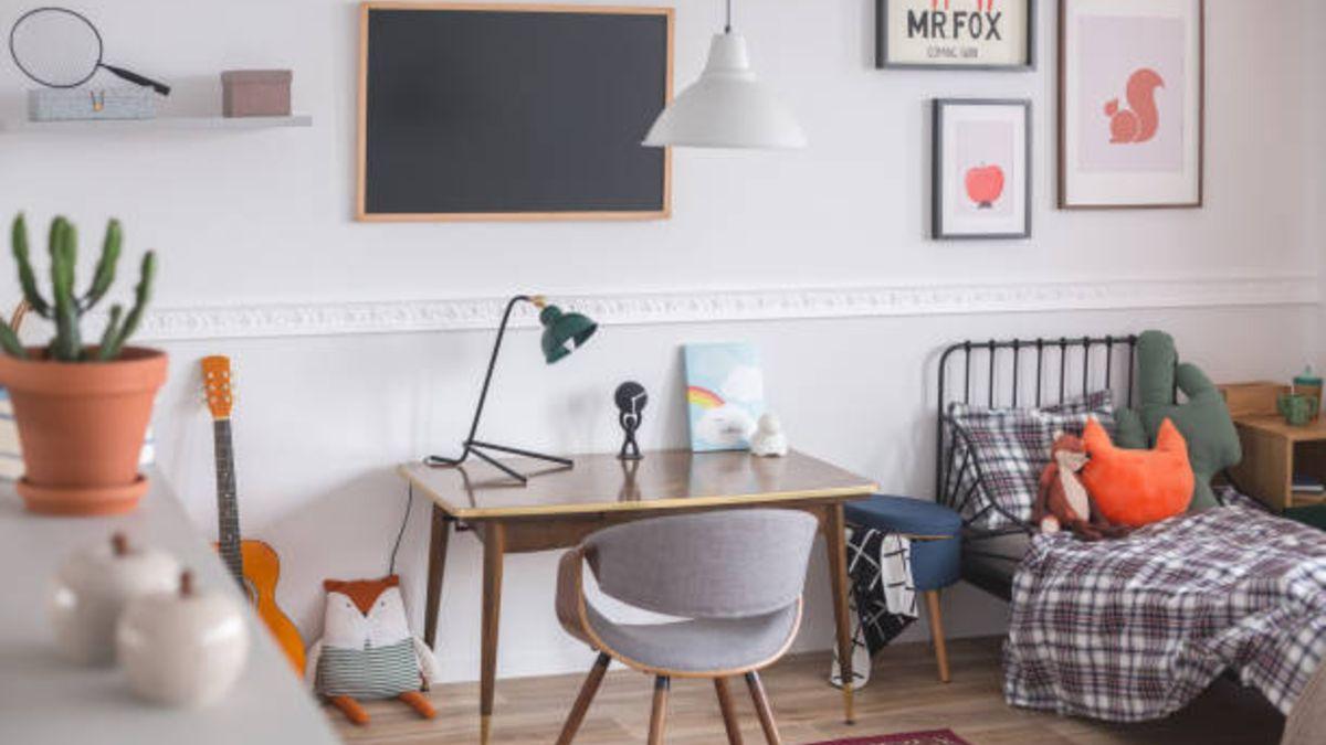 Pequeñas y sencillas ideas para decorar el dormitorio de los niños