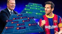 Barcelona y Ferencvaros se enfrentan en el Camp Nou.