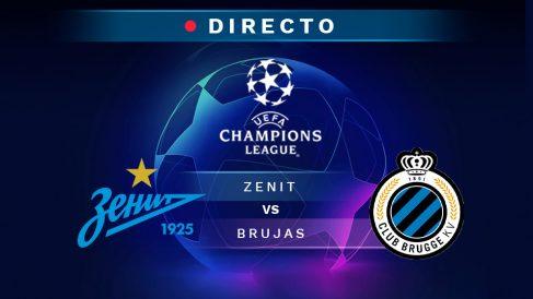 Champions League   En directo: Zenit – Brujas.