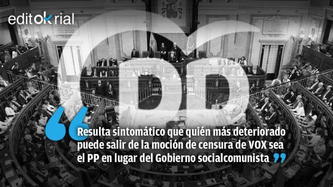 Casado tiene que mojarse y el PP no puede votar con el PSOE y Podemos