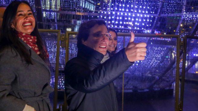 Madrid luces navideñas