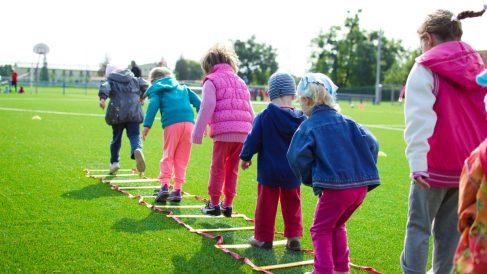 Las actividades al aire libre son perfectas para niños