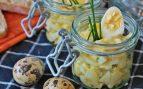 Receta de ensalada de patata con huevos de codorniz