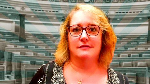 La ex senadora de Podemos Celia Cánovas.