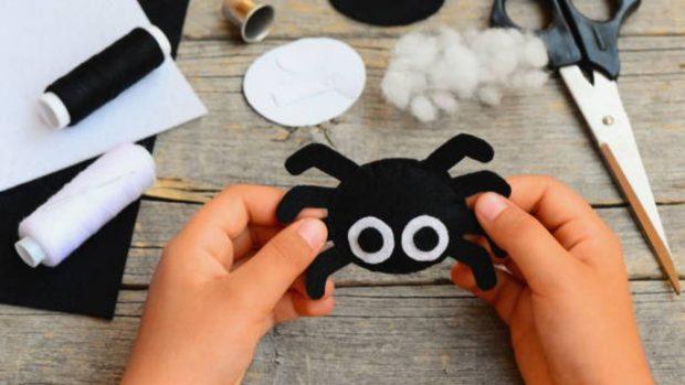 Halloween 2020: Cómo hacer manualidades de fieltro con los niños