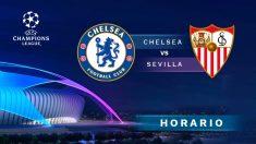 Champions League 2020-2021: Chelsea – Sevilla| Horario del partido de fútbol de Champions League.
