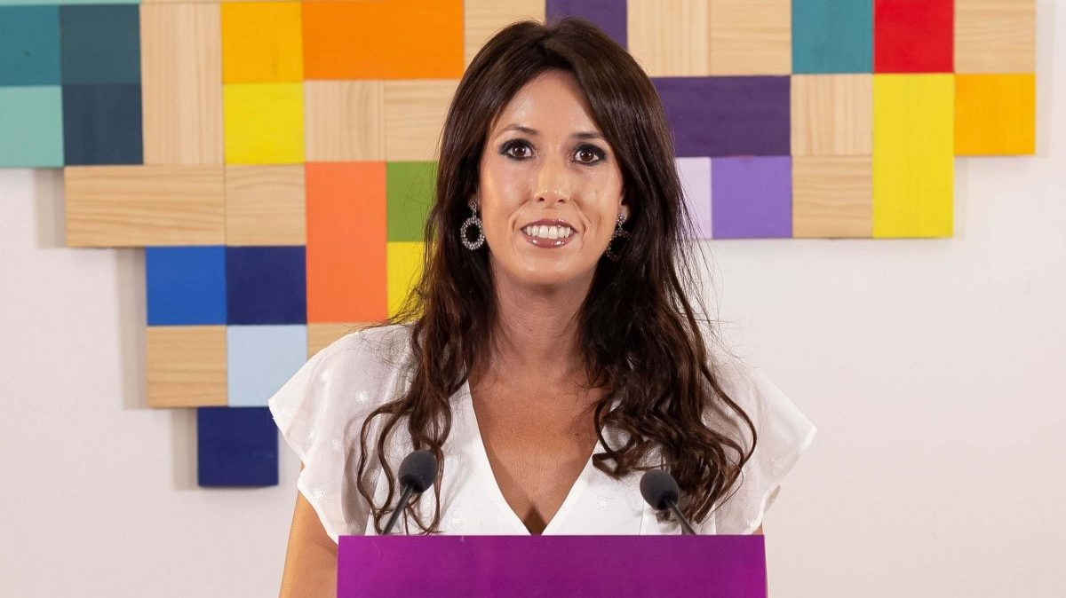 La coordinadora general de Podemos Andalucía, Martina Velarde.