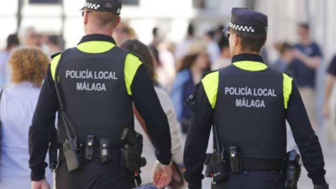 Ocho infectados por un brote de coronavirus en la Policía Local de Málaga