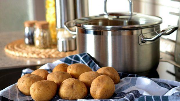 Receta de patatas rellenas gratinadas al horno