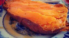 Receta de batata glaseada con naranja y miel