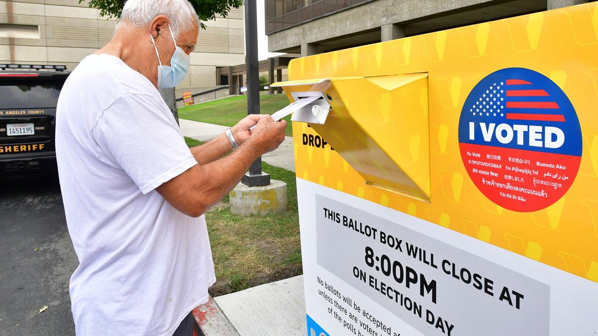 Voto por correo en Estados Unidos (Foto: AFP)