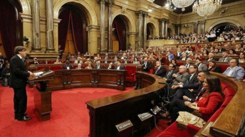 El 27 octubre de 2017 se produce la Declaración unilateral de independencia en Cataluña