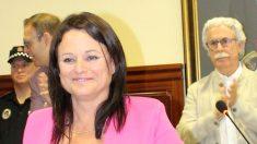 Cristina Los Arcos, alcaldesa de Espartinas.