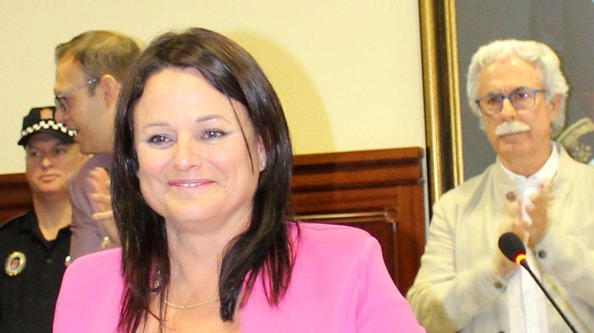 Cristina Los Arcos, alcaldesa socialista de Espartinas.
