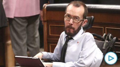 Echenique culpable en firme por no pagar la Seguridad Social a su asistente- desiste de recurrir
