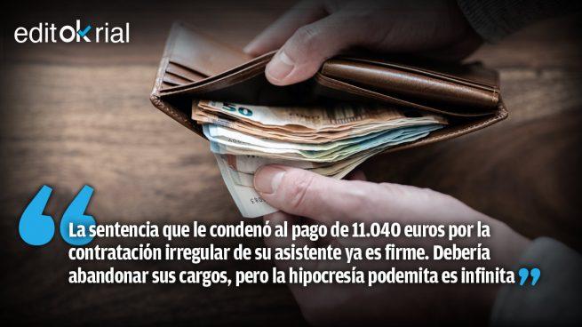 Echenique: paga y vete
