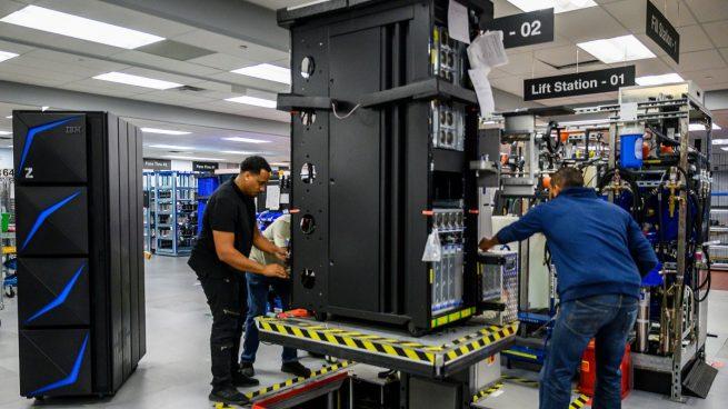 IBM aumenta un 1,5% su beneficio en el tercer trimestre hasta los 1.443 millones
