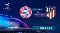 Champions League 2020-2021: Bayern de Munich – Atlético de Madrid | Horario del partido de fútbol de Champions League