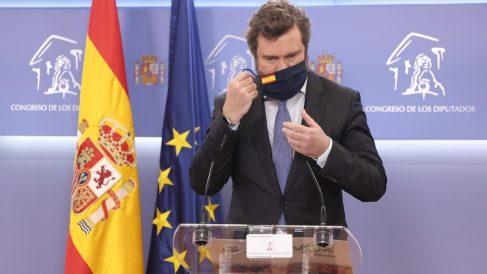 Iván Espinosa de los Monteros en el Congreso. (Europa press)