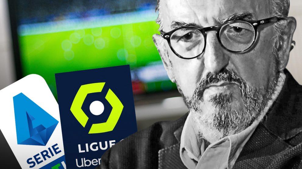 Jaume Roures, al borde del colapso en el mundo del fútbol.