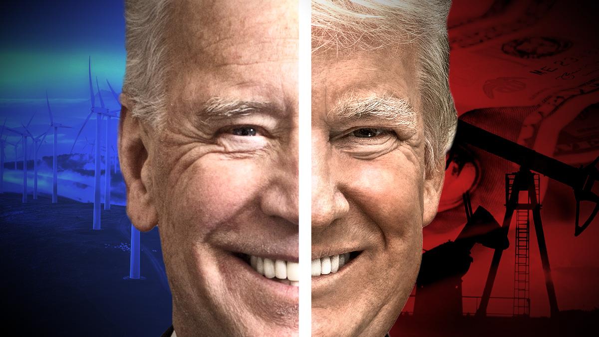 Trump y Biden se disputarán la Casa Blanca en pocos días.