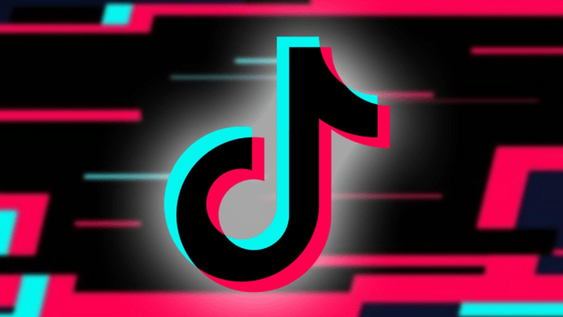 Logo de la aplicación TikTok.