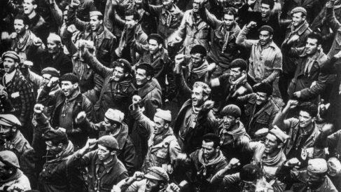 El 28 de octubre de 1938  las Brigadas Internacionales se despiden de España